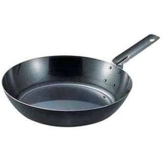 《IH対応》 SA鉄黒皮オーブン用厚板フライパン 26cm <AHL94026>