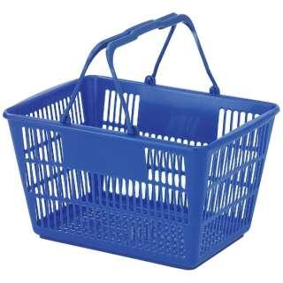 ショッピングバスケット U-17 ブルー <ASYF602>