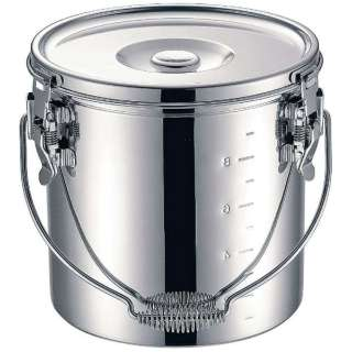 KO 19-0 電磁調理器対応 スタッキング給食缶 30cm <ASYG606>
