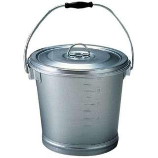 アルマイト 丸型一重食缶 214 (12l) <ASY17214>