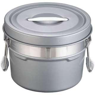 段付二重食缶(内外超硬質ハードコート) 245-H (6l) <ASY58245>