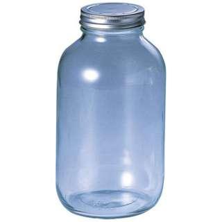 18-0キャップ ガラス保存びん 228113 900cc <AHZ1802>