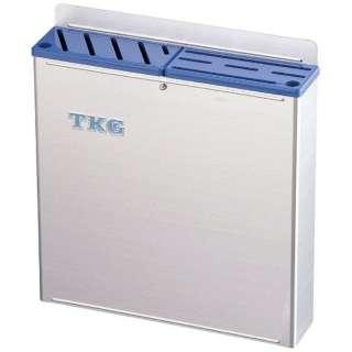TKG18-8プラ板付カラーナイフラック 大 ABタイプ 青 <AHU675>