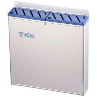 TKG18-8プラ板付カラーナイフラック 大 Aタイプ 青 <AHU695>