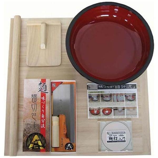 豊稔 家庭用麺打セットA そば うどん麺打入門DVD付 A-1230 [2307]