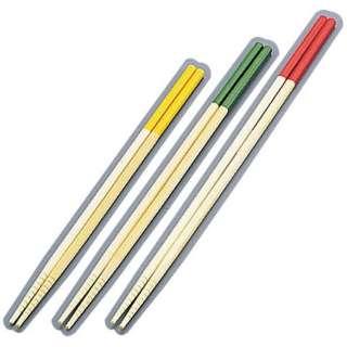 竹製 カラー菜箸3点セット (27cm・30cm・33cm) <ASI4401>