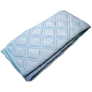 【涼感パッド】霜降り超冷感敷パッド シングルサイズ(120×205cm/ブルー)