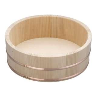 木製銅箍 飯台(サワラ材) 24cm <BHV01024>