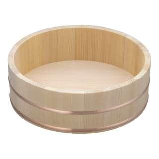 木製銅箍 飯台(サワラ材) 27cm <BHV01027>