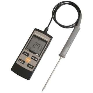 白金デジタル防水温度計 MT-851 標準センサー付 <BOVP501>