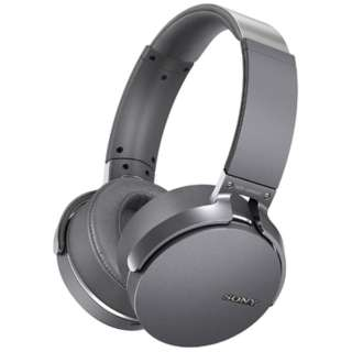 ≪海外仕様≫ヘッドホン [リモコン・マイク対応 /Bluetooth] MDRXB950BTHCE グレー