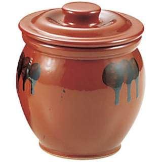 陶器 蓋付ミニかめ(ソース入れ) 0.5号 <PMN04005>
