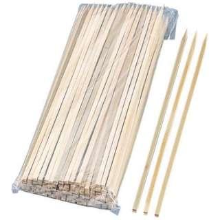 竹製 角串ロング 400mm 2715(50本入) <XOI2901>