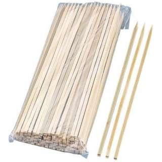 竹製 角串ロング 300mm 2353(100本入) <XOI2801>
