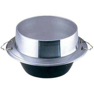 アルミ鋳物 小釜 カン付 24cm <QKM6824>