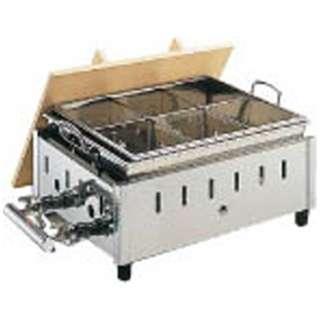 18-8湯煎式おでん鍋 OY-15 尺5寸 LPガス <EOD2107>