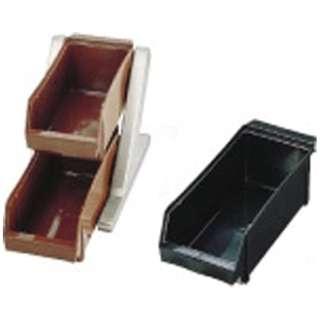 SA18-8デラックス オーガナイザー 2段1列(2ヶ入) ブラック <EOC012>