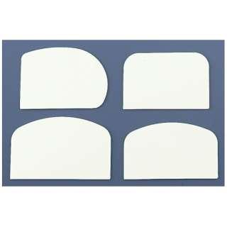 ホテイ印 ドレッジ白(硬質) 小 4枚組 <WDL02>