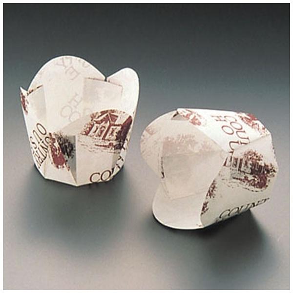 天満紙器 チューリップカップ白 M-303100枚入 WTY66303
