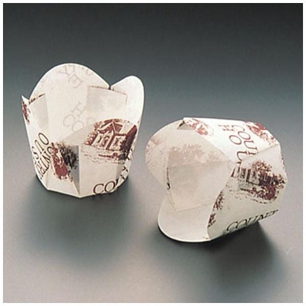 天満紙器 チューリップカップ白 M-304100枚入 WTY66304