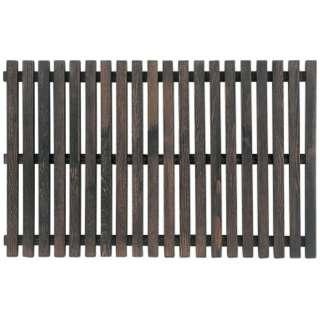 木製すのこ PW-3860 黒 <WSN0603>