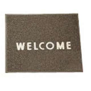 3M 文字入マット WELCOME 茶 <KMT1316A>