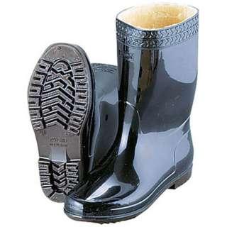 弘進 防寒ゾナ長靴(耐油性・ボア裏)黒 25cm <SNG19250>