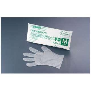 ジャパックス HDポリエチレン手袋 PGH-02 M(200枚入) <STBF202>