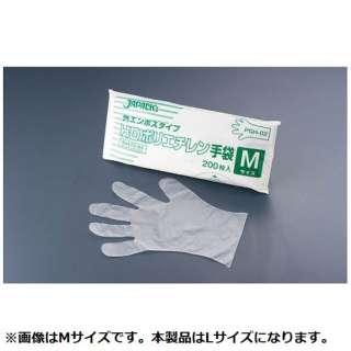 ジャパックス HDポリエチレン手袋 PGH-03 L(200枚入) <STBF203>