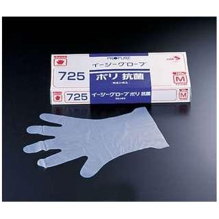 オカモト イージーグローブポリ抗菌手袋 No.725 M(100枚入) <STB472>