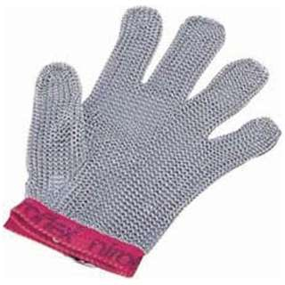 ニロフレックス メッシュ手袋5本指 L L5(青) <STB6501>