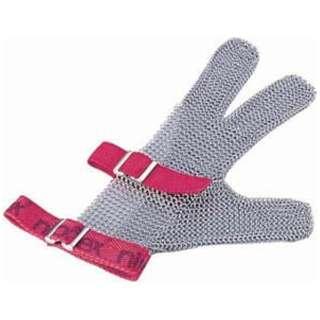 ニロフレックス メッシュ手袋3本指 L L3(青) <STB6701>