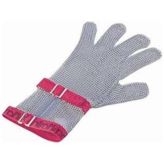 ニロフレックス メッシュ手袋5本指 S C-S5白 ショートカフ付 <STB6803>