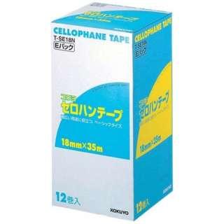 コクヨ セロハンテープ T-SE18N(12巻入) <XTC0901>
