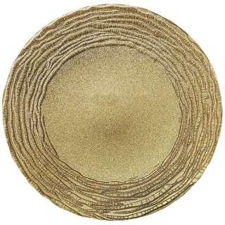 マラケシュ チャージャープレート 32cm ゴールド <RPLL302>