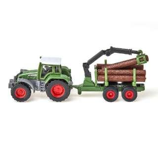 siku フェント トラクター 木材運搬トレーラー付 SK1645