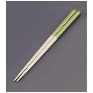 木製 ブライダル箸(5膳入) パールホワイト/グリーン <RHSR904>