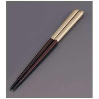 木製 ブライダル箸(5膳入) オーク/ゴールド <RHSR906>