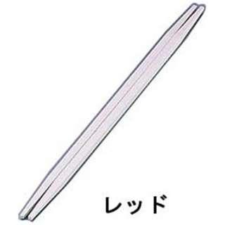 ニューエコレン箸和風 利休箸(50膳入) レッド <RHSB701>