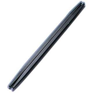 ニューエコレン箸和風 利休箸(50膳入) ブラック <RHSB703>