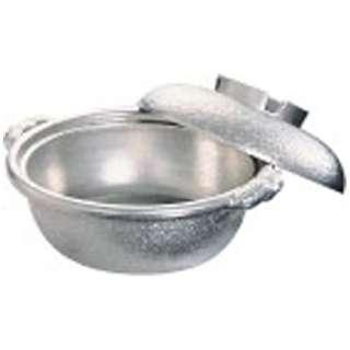 《IH非対応》 アルミ 土鍋(白仕上風) 27cm <QDN01027>