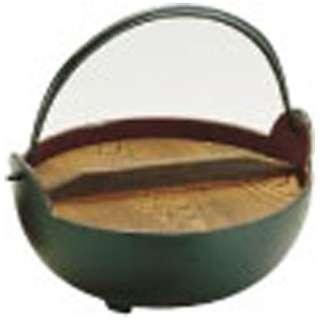 《IH非対応》 トキワ やまが鍋(内茶ホーロー仕上) 24cm(杓子付) <QYM02024>