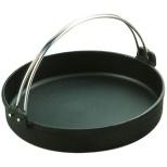 《IH対応》 トキワ 鉄すきやき鍋 黒ツル付 28cm <QSK35028>