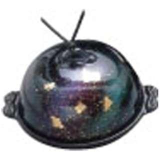 《IH非対応》 アルミ高瀬陶板鍋 七彩 大 16.5cm <QTU341>