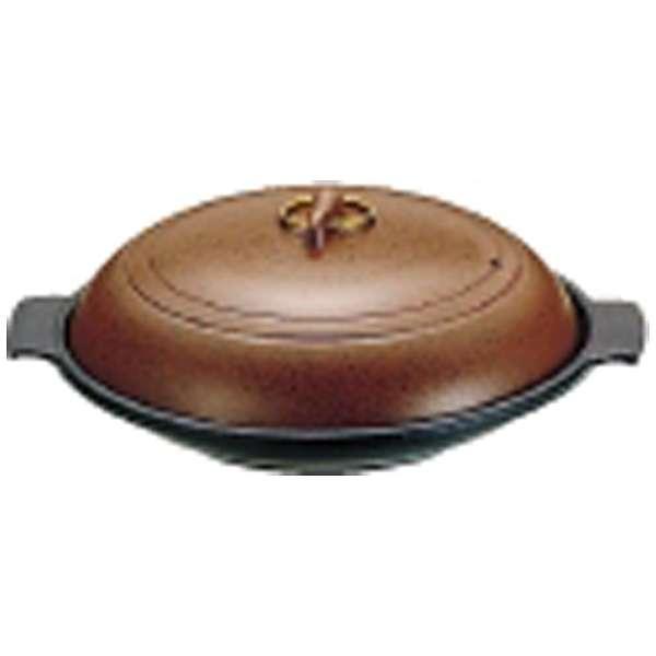 《IH非対応》 SAやまと陶板鍋(アルミ製)18cm 深型 <QTU07182>