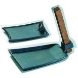 《IH非対応》 SAアルミ陶板鍋 くわ型小 (特殊焼付塗装) <QTU06003>