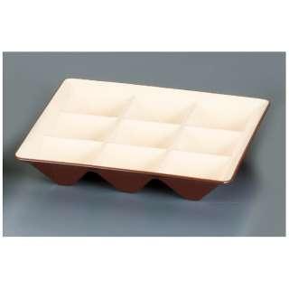 カプセルボックス 固定仕切本体 海老茶(えびちゃ) <RKPA003>