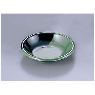 メラミン「緑彩」 薬味皿 RY-32 <QYK4001>