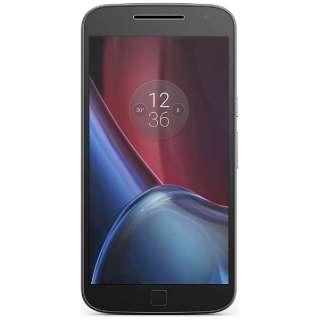 Moto G4 Plus 32GBブラック「AP3753AE7J4」 Snapdragon 617 5.5型・メモリ/ストレージ:3GB/32GB microSIMx2(nanoSIMアダプタ同梱) ドコモ/ソフトバック/Ymobile SIM対応 DSDS対応 SIMフリースマートフォン
