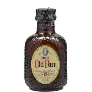 オールドパー12年 ミニチュアボトル 50ml【ウイスキー】